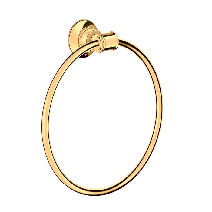 Axor Montreux Полотенцедержатель - кольцо, подвесной, цвет: полированное золото