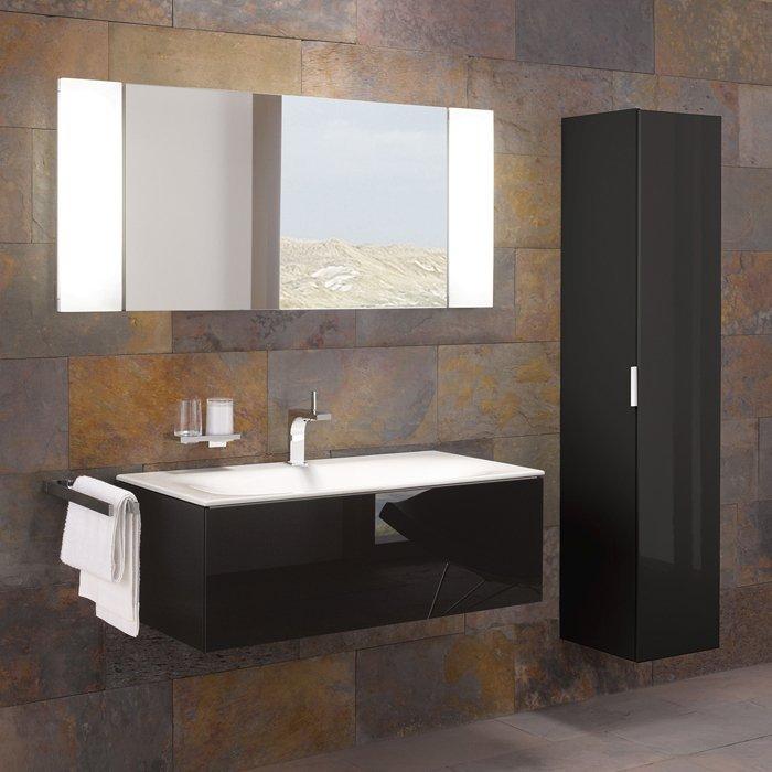 Keuco Edition 11 Комплект мебели 105х53.5х35 см, цвет: черный