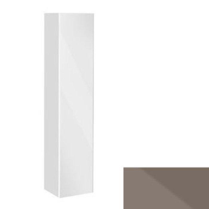 Keuco Royal Reflex Высокий шкаф 1670х350х335 мм, с корзиной для белья, петли справа, Цвет: Трюфель