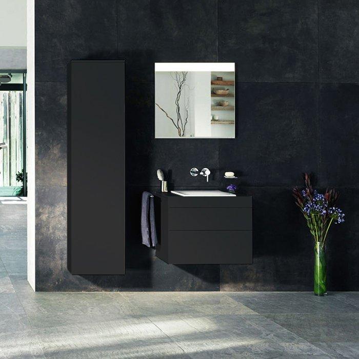 Keuco Edition 400 Комплект мебели 70х53.5х54.6 см, антрацит