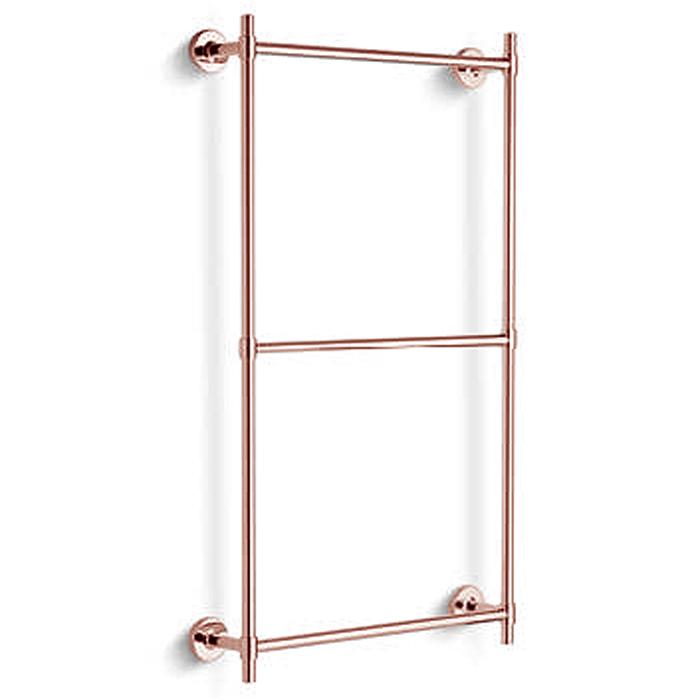 Bertocci Cinquecento Полотенцедержатель тройной 60х60 см, цвет: розовое золото