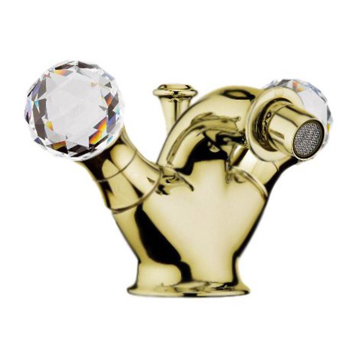 Смеситель для биде Webert Karenina КА710102 Золото/кристаллы Swarovski