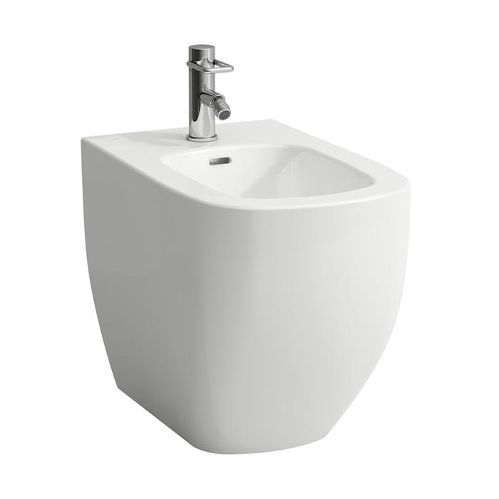 Laufen Palomba Биде напольное 560x360x430мм с 1 отв. под смеситель, цвет: белый