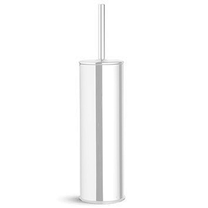 Bertocci Cinquecento Ерш напольный в металлической колбе, цвет: белый матовый