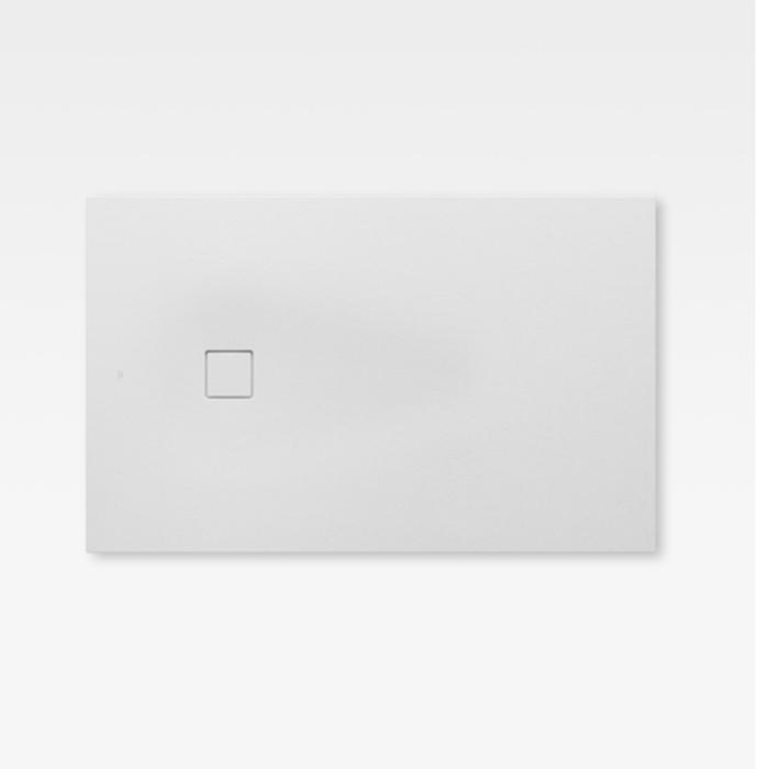 Armani Roca Baia Душевой поддон 120х80х2.8см с боковым сливом, с anti-slip, мат-л: Stonex, цвет: off-white