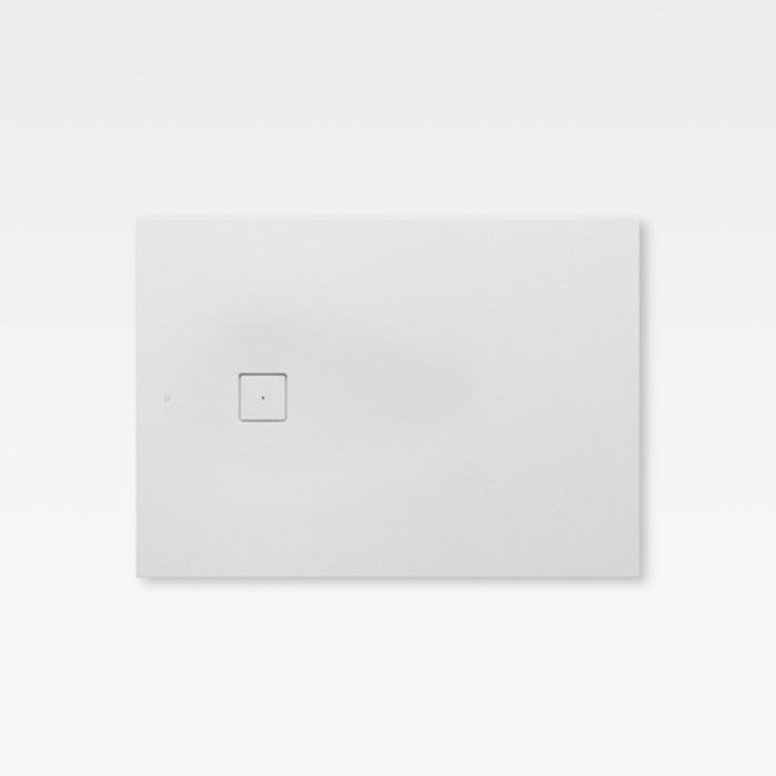 Armani Roca Baia Душевой поддон 140х100х3.1см с боковым сливом, с anti-slip, мат-л: Stonex, цвет: off-white