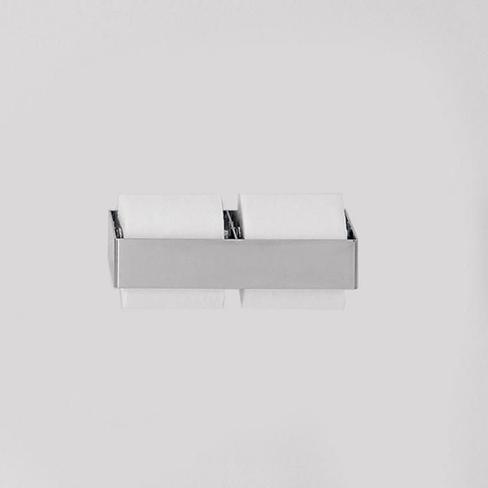 Agape 369 Двойной держатель туалетного рулона, цвет: глянец