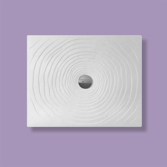 Flaminia Water Drop Душевой поддон 80x100xh5.5см, цвет: bianco