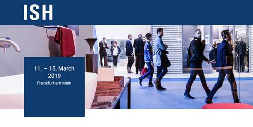 ISH 2019 - 30-я международная выставка сантехники
