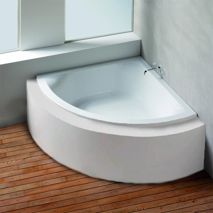 Hoesch Scelta Ванна встраиваемая 150х150х66см, с гидро и аэромассажем Deluxe Whirl+Air, цвет: белый