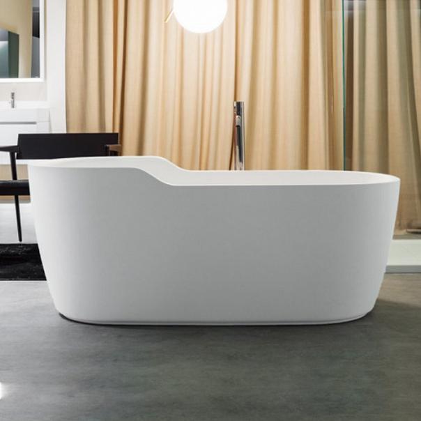 г. Москва: Antonio Lupi свободностоящая ванна Funny West - красота, компактность и впечатляющая вместительность