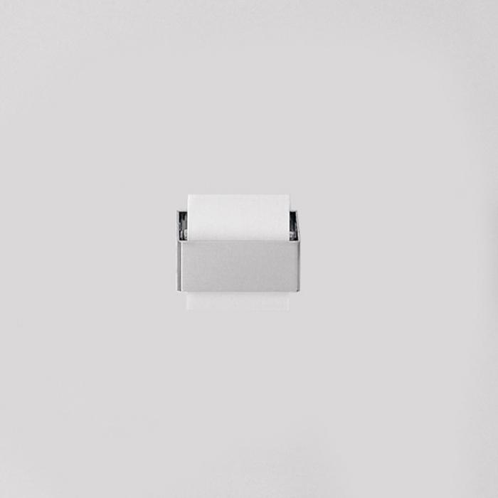 Agape 369 Держатель туалетного рулона из нержавеющей стали, подвесной, цвет: глянец