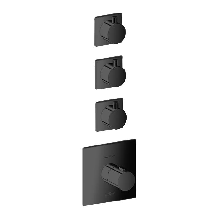 Webert Elio Встраиваемый смеситель, термостатический, цвет: черный
