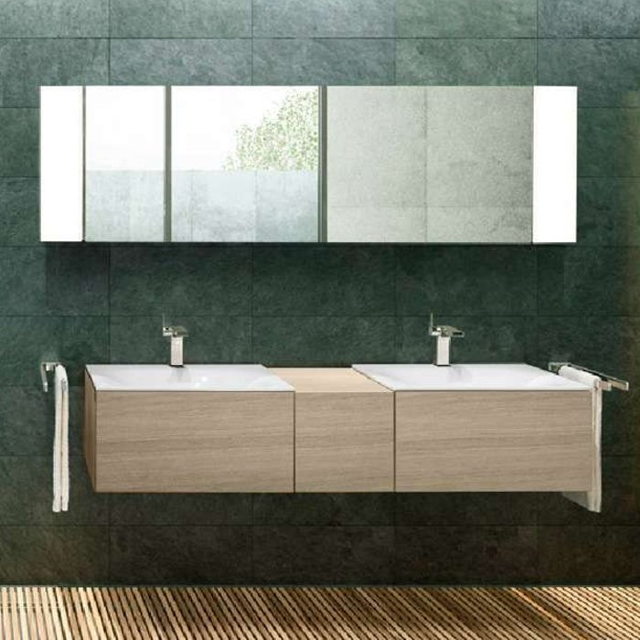Keuco Edition 11 Комплект мебели 175х53.5х35 см, цвет: платиновый дуб