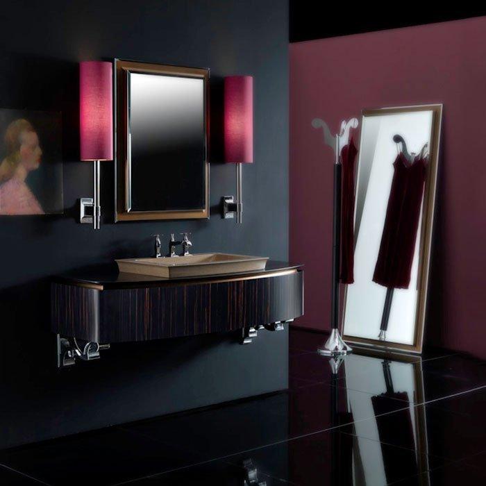 Karol Bania comp. №5, комплект подвесной мебели 140 см. цвет: Эбеновое дерево фурнитура: золото