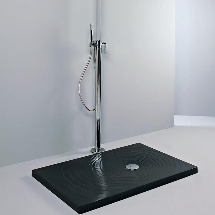 Flaminia Water Drop Душевой поддон 120x80xh5.5см, цвет: nero