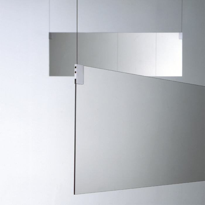 Agape Insegna Зеркало двухстороннее 140x40 см, цвет: хром