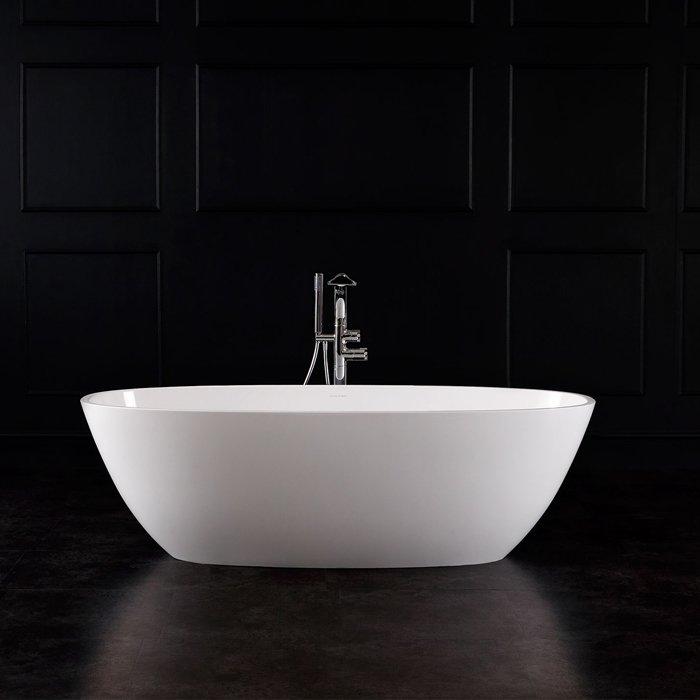 Victoria + Albert Terrassa Ванна, 170.2х79.3х52,8 см, Отдельностоящая, цвет: белый