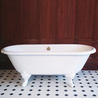 Herbeau Eugenie Ванна свободностоящяя на ножках, 175х76 см, цвет белый