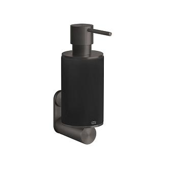 Gessi 316 Дозатор для жидкого мыла настенный, цвет: черный/brushed black metal pvd