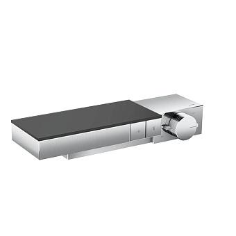 Axor Edge Смеситель для душа, термостат, на 2 источника, алмазная огранка, цвет: хром