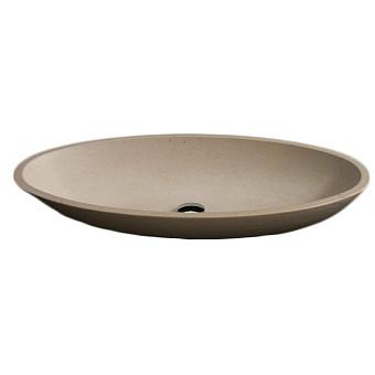 Rifra Ellisse Раковина накладная 75х41.5х15 см, натуральный камень