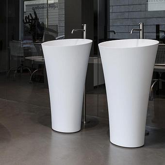 Antonio Lupi Tuba Напольная раковина 50.4х50.4см, цвет: белый