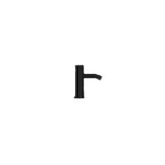 Falper Acquifero Смеситель для биде, 1 отв., цвет: черный матовый