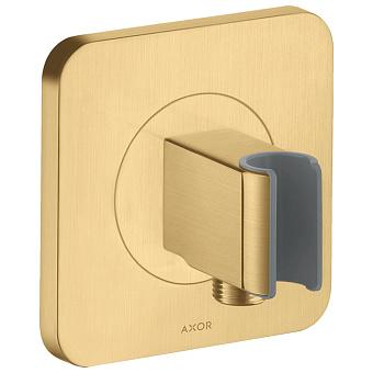 Axor Citterio E Держатель ручного душа 12х12см, цвет: шлифованное золото