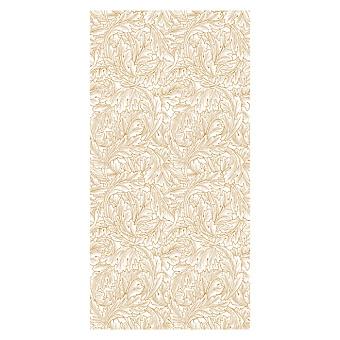 Devon&Devon Decor Slabs Керамогранит 120x240см, универсальная, глазурованнаный, декор: acanthus white&gold