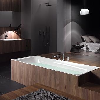 Bette Lux Ванна встраиваемая, 190х90х45 см, с шумоизоляцией, BetteGlasur® Plus, цвет: белый