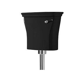 Artceram CIVITAS Средний бачок для напольного унитаза 44х39 см, цвет: черный