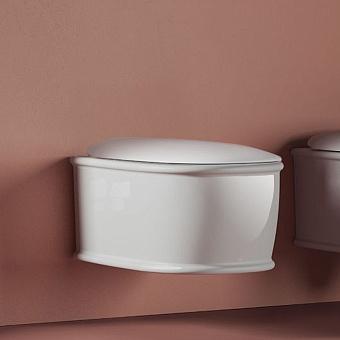 Artceram Atelier Унитаз подвесной, 52х37см, безободковый, с крепежом, цвет: белый