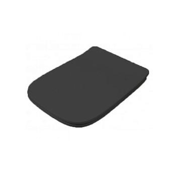 Artceram A16 Сиденье для унитаза с микролифтом, цвет: черный матовый