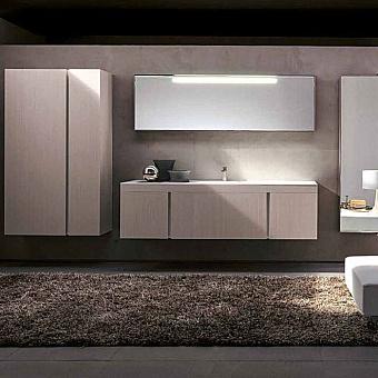 Karol Manhattan comp. №1, комплект подвесной мебели 190 см. цвет: Legno Tessuto