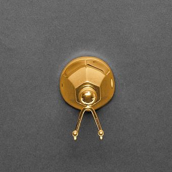 Cristal et Bronze Charlety Крючок двойной, цвет: золото