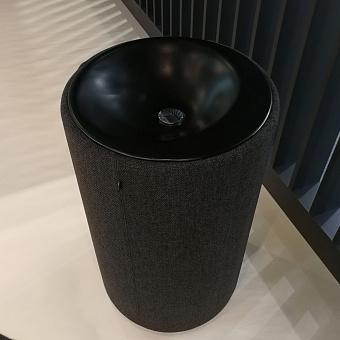 Bette Lux Oval Couture Раковина 90х55 см, 1 отв., напольная, с текстильным подиумом, цвет: болотный