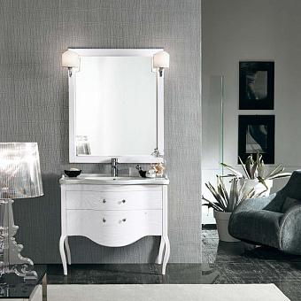 EBAN Sonia Комплект мебели 95 см с зеркалом Marika, цвет: bianco decape