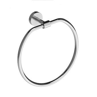 Stella Lucilla Полотенцедержатель кольцо, настенный, цвет: хром