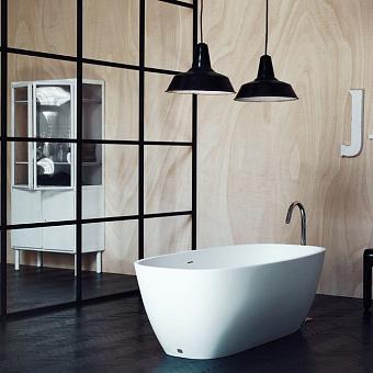 Agape Normal Ванна отдельностоящая 170.5х72х50.5 см, цвет: белая, в комплекте слив-перелив