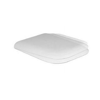AZZURRA PRUA Сиденье для унитаза, цвет белый/хром микролифт