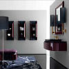 Karol Bania comp. №9, комплект подвесной мебели 120 см. цвет: Bordeaux brillant фурнитура: золото