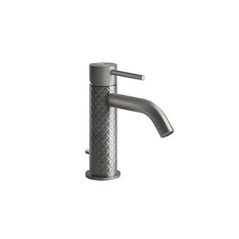 Gessi Intreccio Смеситель однорычажный с донным клапаном, цвет: шлифованная сталь