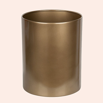 TW Harmony 011, ведро открытое 12,5 литра, цвет: золото