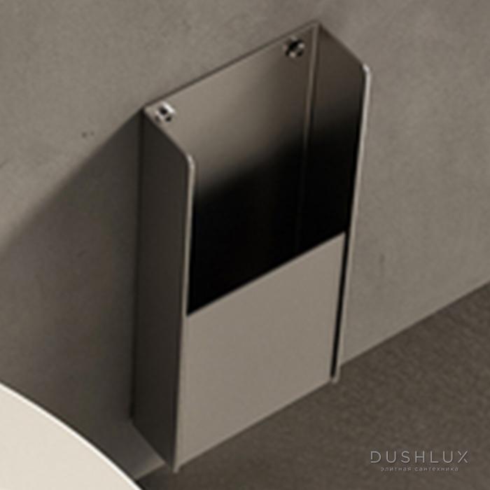 Agape Mach 2 Диспенсер для санитарных пакетов подвесной 30x12.8 см, цвет: сатин