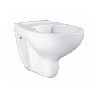 Grohe Bau Ceramic Унитаз 53x37 см, подвесной, слив в стену, цвет: белый