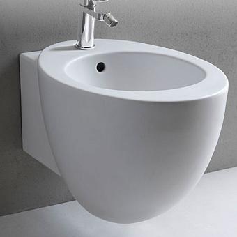 Cielo Le Giare Биде подвесное 37×55×33.5h см, 1 отв., с креплениями, реверс, цвет: глянцевый белый