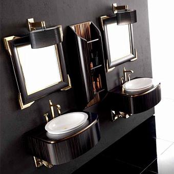 Karol Bania comp. №7, комплект подвесной мебели 75 см. цвет: Эбеновое дерево фурнитура: золото