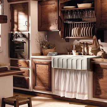 Kerasan Hannah Surrey Раковина кухонная 800x470x230 мм, без отв под смеситель, цвет: белый