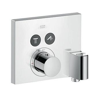 Axor ShowerSelect Термостат с 2 запорными клапанами, держателем FixFit, СМ, цвет: хром